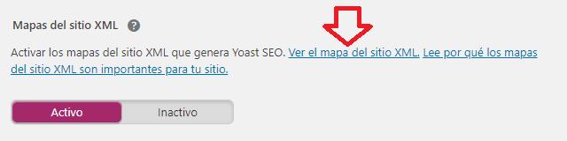 sitemap xml en yoast